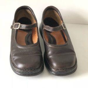Women's Born Mary Jane Pebble Leather